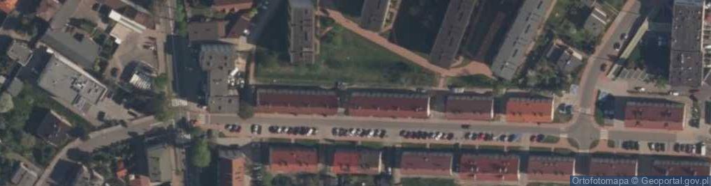 Zdjęcie satelitarne Skłodowskiej-Curie Marii 7