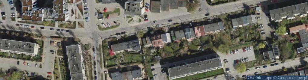 Zdjęcie satelitarne Śląska 34
