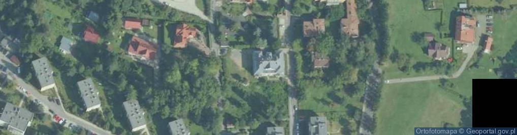 Zdjęcie satelitarne Słowackiego Juliusza 2