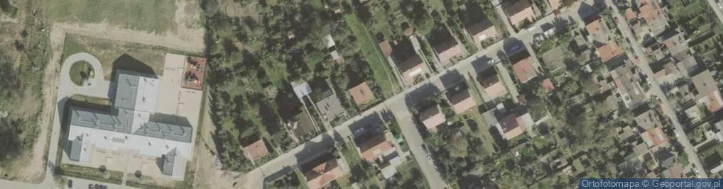Zdjęcie satelitarne Słowackiego Juliusza 26