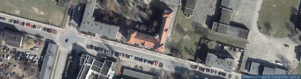 Zdjęcie satelitarne Sowińskiego Józefa, gen. ul.