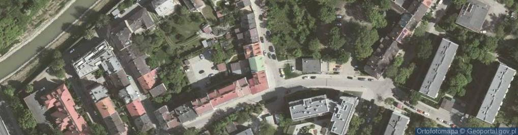 Zdjęcie satelitarne Spiska ul.