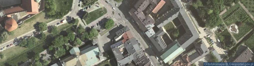 Zdjęcie satelitarne Stradomska ul.