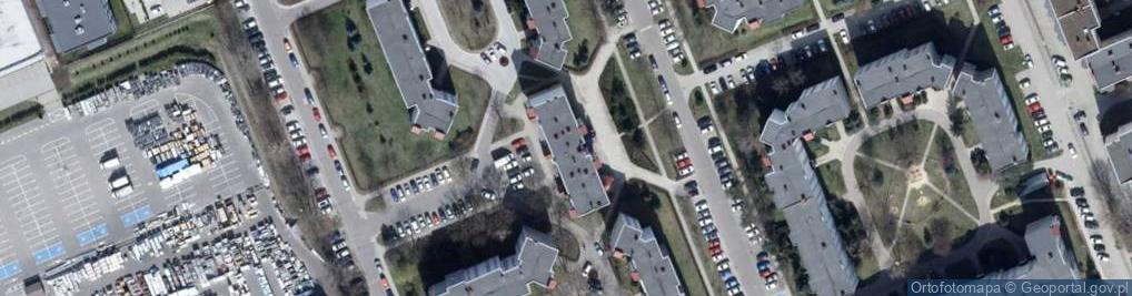 Zdjęcie satelitarne Studzińskiego Zdzisława, wadm. 61