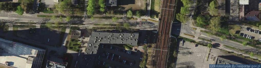 Zdjęcie satelitarne Strzegomska 42C