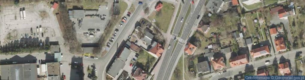 Zdjęcie satelitarne Sulechowska ul.