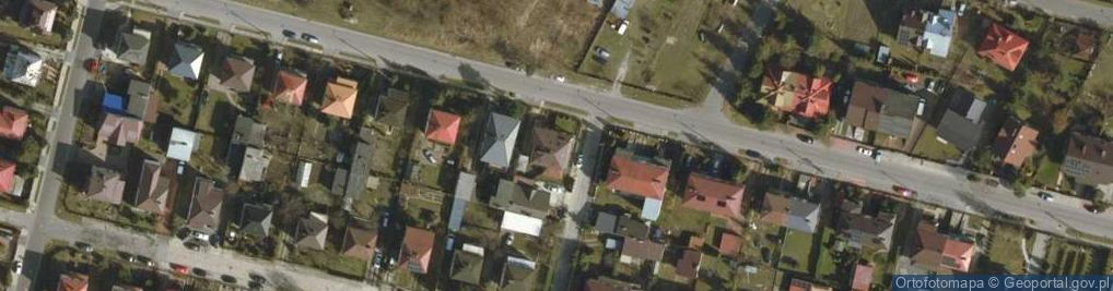Zdjęcie satelitarne Sworska ul.