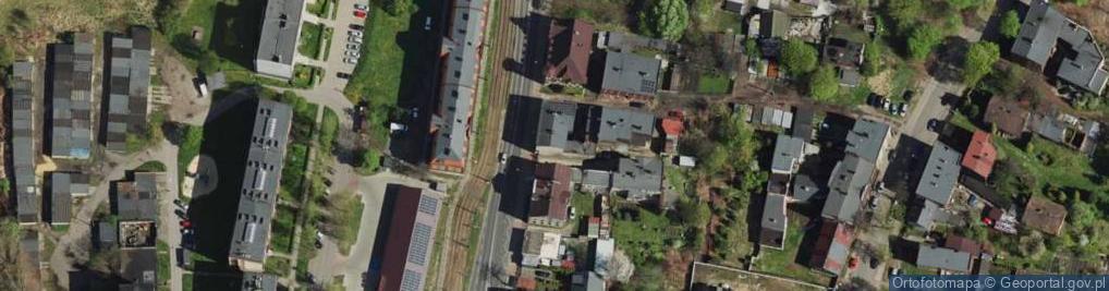 Zdjęcie satelitarne Świętochłowicka ul.