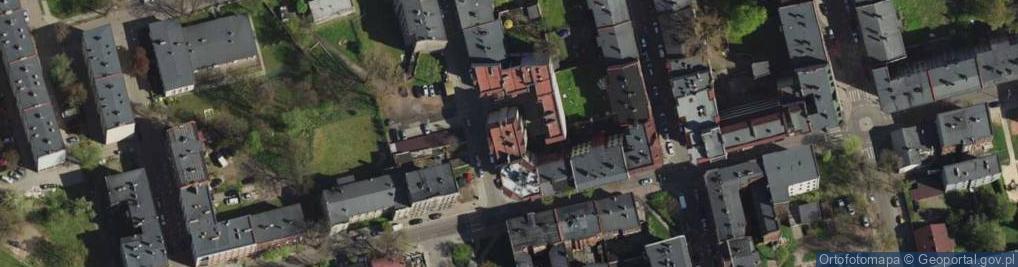 Zdjęcie satelitarne św. Pawła ul.