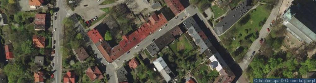 Zdjęcie satelitarne Świeżego Ignacego, ks. ul.