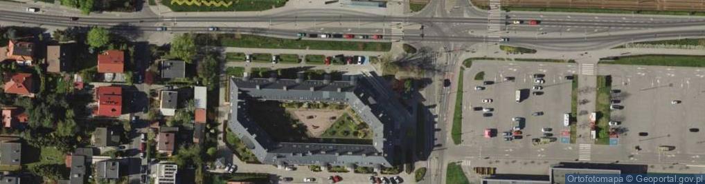 Zdjęcie satelitarne Świeradowska ul.