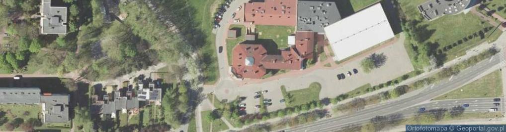 Zdjęcie satelitarne Symfoniczna 1
