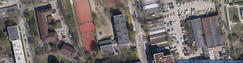 Zdjęcie satelitarne Syreny ul.