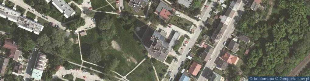 Zdjęcie satelitarne Szafirowa 8