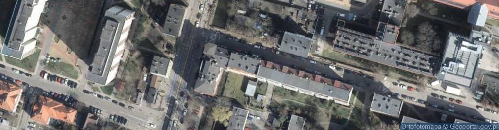 Zdjęcie satelitarne Szpitalna 11