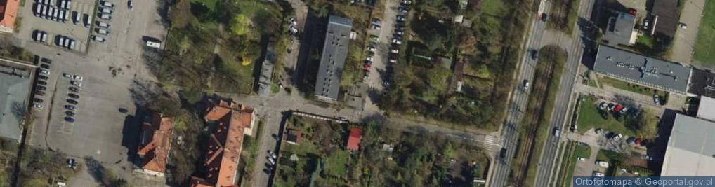 Zdjęcie satelitarne Taborowa ul.