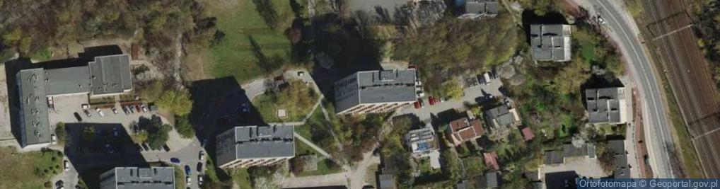 Zdjęcie satelitarne Tatrzańska 2
