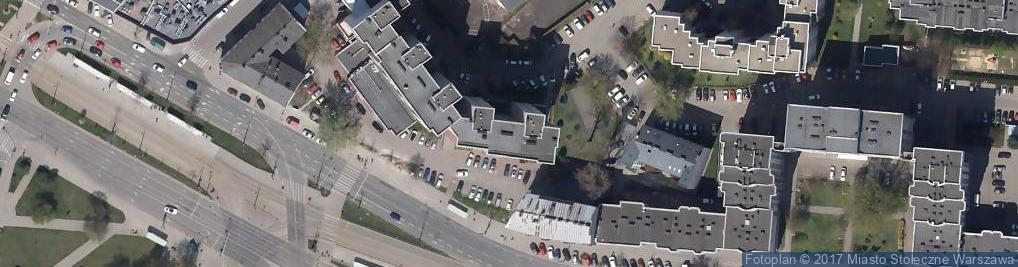 Zdjęcie satelitarne Targowa 2