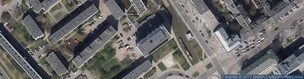 Zdjęcie satelitarne Targowa 81