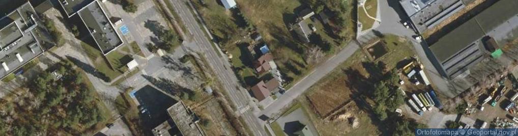 Zdjęcie satelitarne Toruńska 204