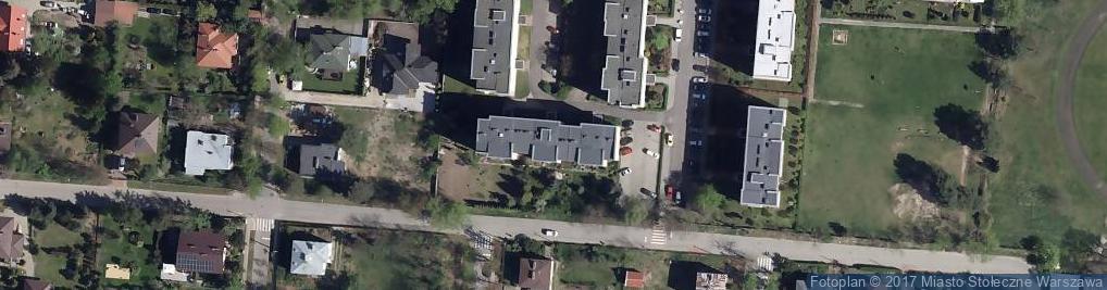 Zdjęcie satelitarne Topograficzna ul.