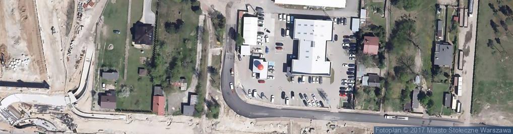 Zdjęcie satelitarne Trakt Brzeski ul.