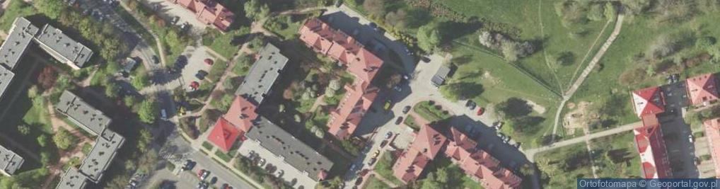 Zdjęcie satelitarne Turkusowa 6