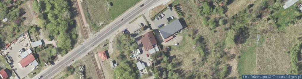Zdjęcie satelitarne Turystyczna 15A