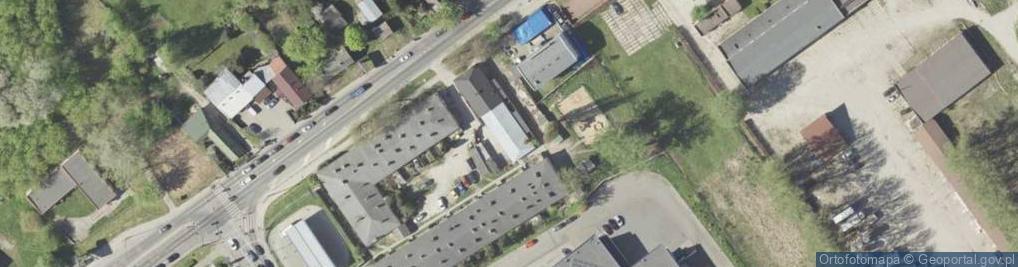 Zdjęcie satelitarne Turystyczna 5