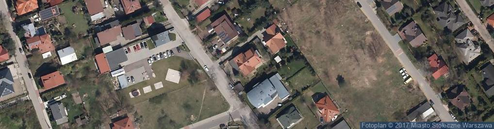 Zdjęcie satelitarne Uczniowska 14