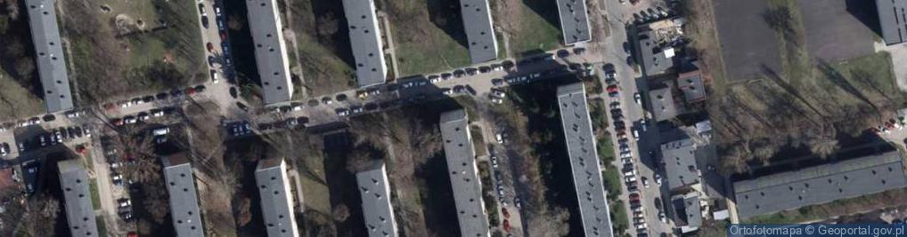 Zdjęcie satelitarne Umińskiego Władysława 2