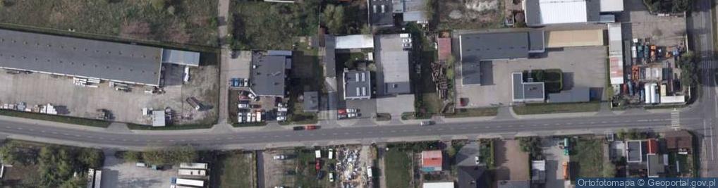 Zdjęcie satelitarne Wąbrzeska 39