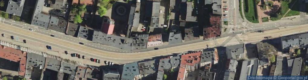 Zdjęcie satelitarne Warszawska 58