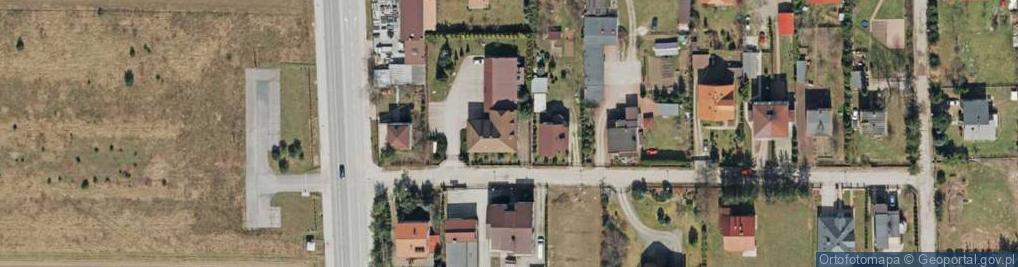 Zdjęcie satelitarne Warkocz ul.