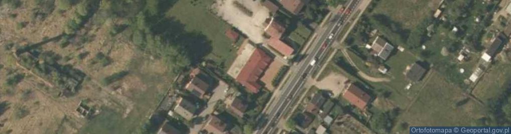 Zdjęcie satelitarne Warszawska 1