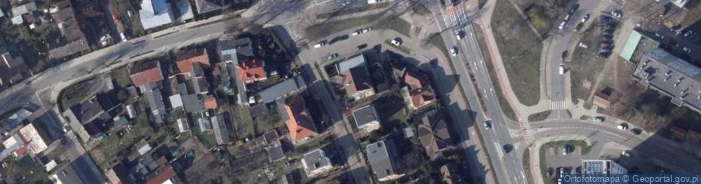 Zdjęcie satelitarne Warszawska 29