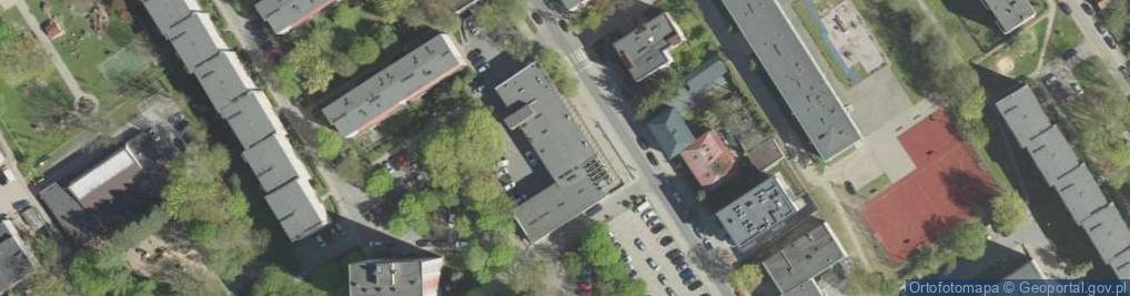 Zdjęcie satelitarne Wesoła 18