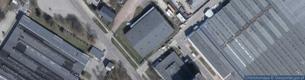 Zdjęcie satelitarne Wersalska ul.