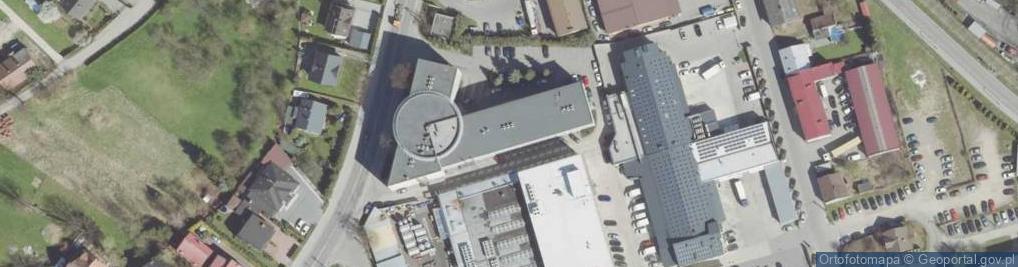 Zdjęcie satelitarne Węgierska 11