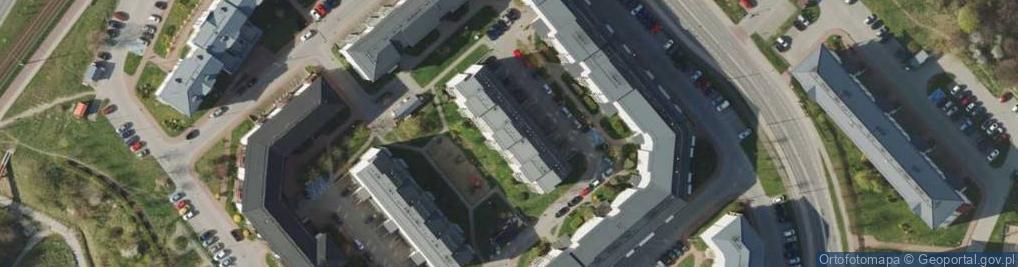 Zdjęcie satelitarne Wilanowska 6