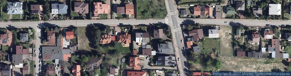 Zdjęcie satelitarne Wilanowska 62