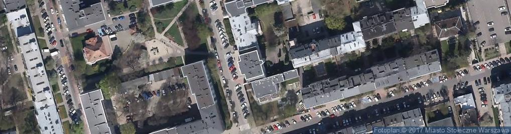 Zdjęcie satelitarne Wiśniowa 36