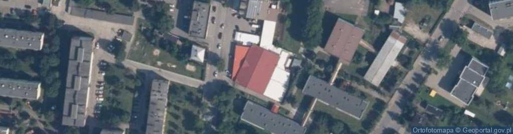 Zdjęcie satelitarne Wojska Polskiego 21
