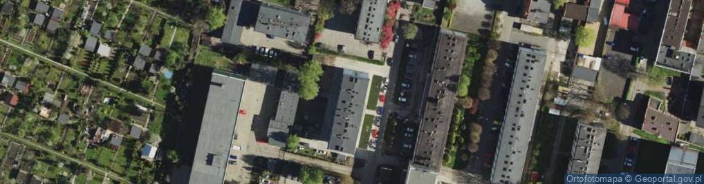 Zdjęcie satelitarne Wolnego Józefa 8