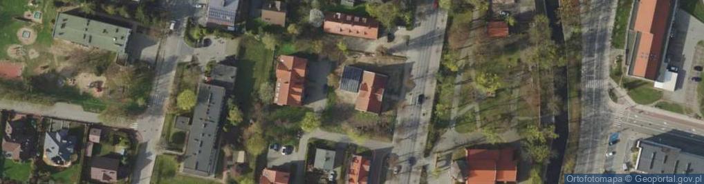 Zdjęcie satelitarne Wojska Polskiego 34