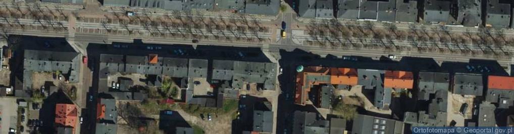 Zdjęcie satelitarne Wojska Polskiego 40