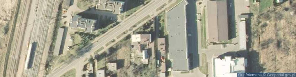 Zdjęcie satelitarne Wojska Polskiego 75