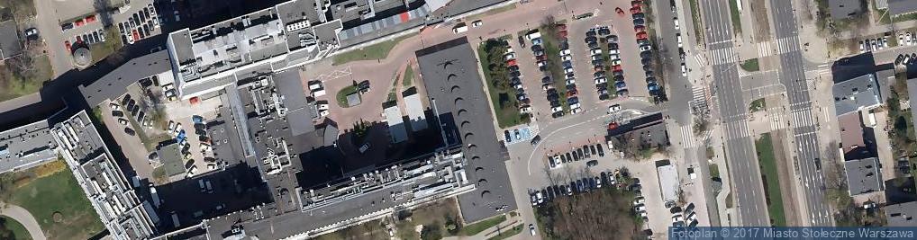Zdjęcie satelitarne Wołoska 137