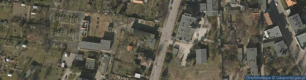 Zdjęcie satelitarne Wojska Polskiego 4
