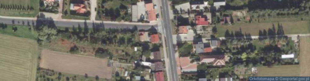 Zdjęcie satelitarne Wrocławska 209